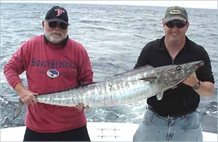 Fishing for Wahoo in Myrtle Beach South Carolina